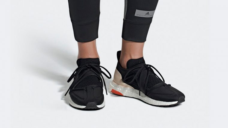 adidas Ultra Boost T Black Beige Womens F35837 06 thumbnail image