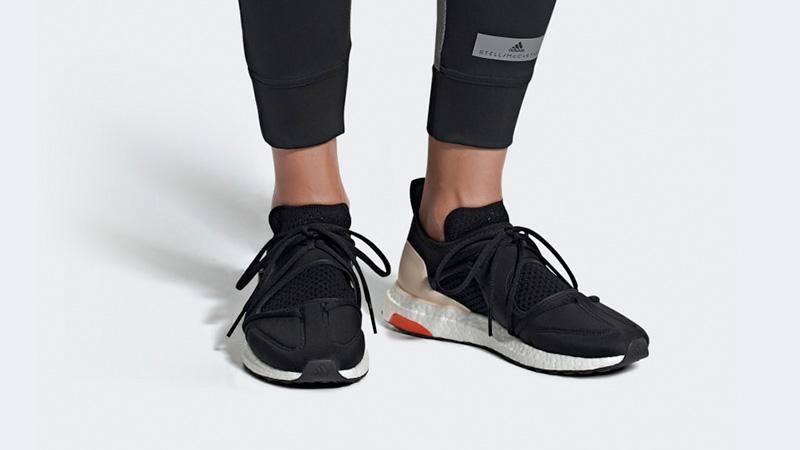 adidas Ultra Boost T Black Beige Womens F35837 06