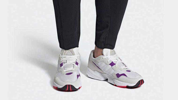 adidas Yung 96 White Purple DB2601 04 thumbnail image