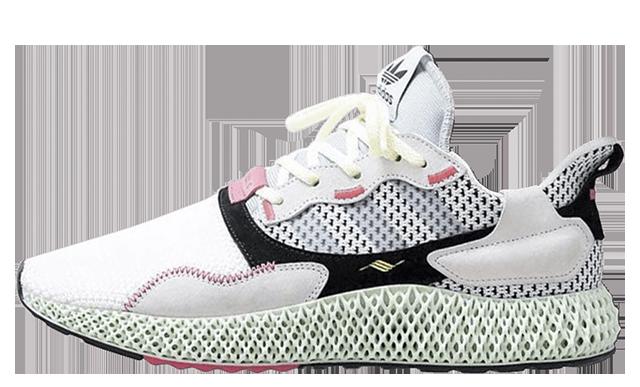 Adidas ZX 4000 4D 'Footwear WhiteGrey' B42203 Release Date