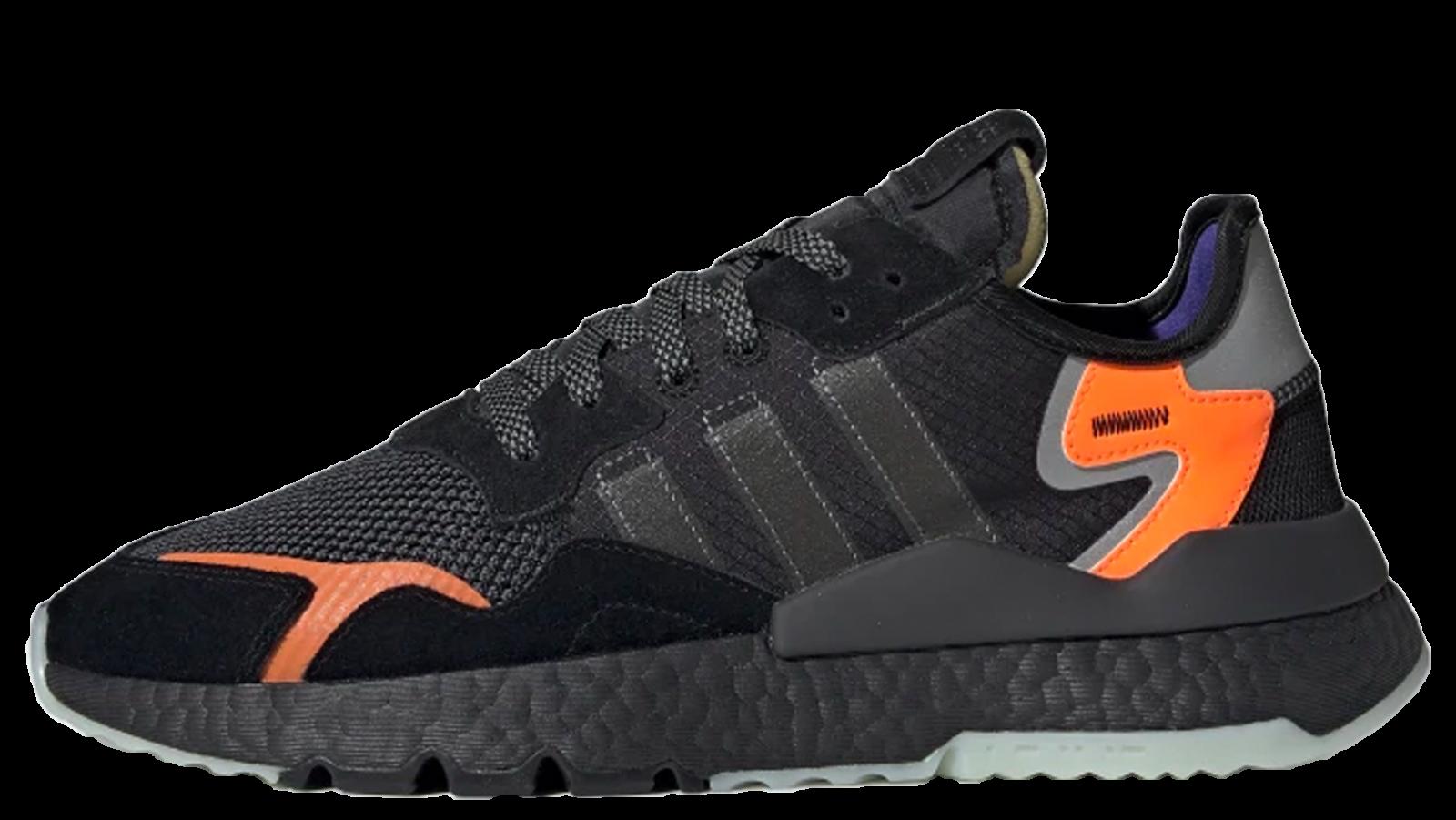0cdc076a256a adidas Nite Jogger OG Black Orange