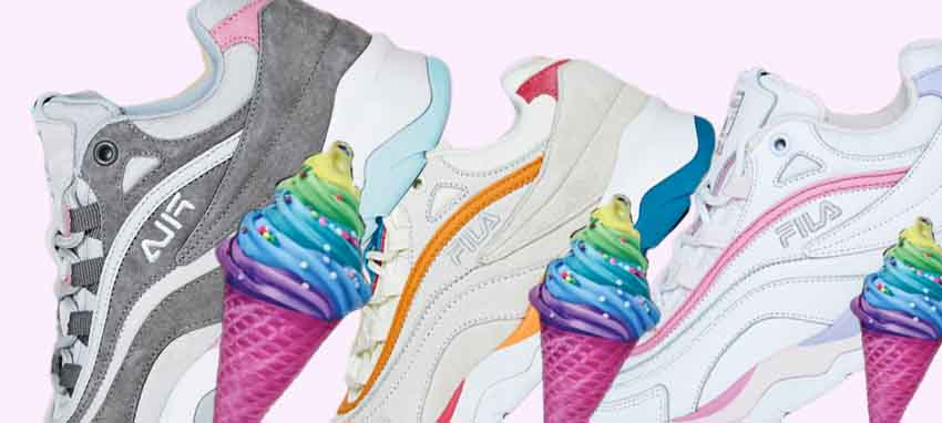 Sweet Tooth With Fila's Ice Cream Pack