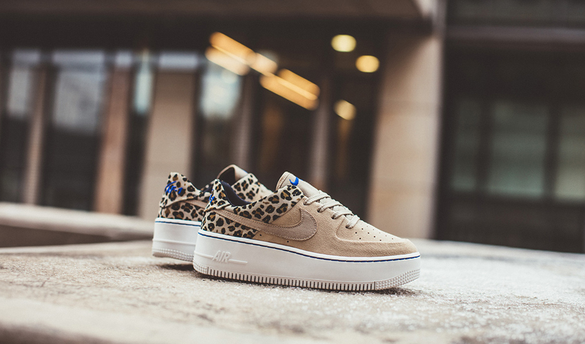Nike Air Force 1 Sage Low Premium Leopard Print | Where To Buy