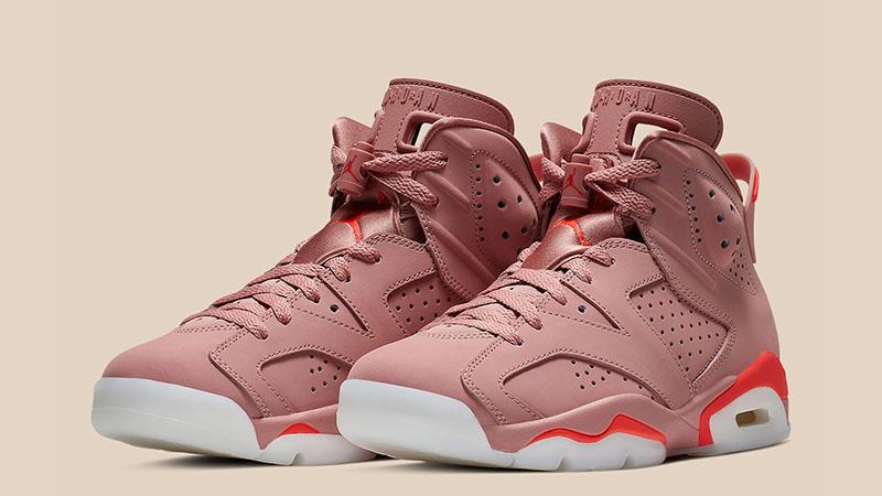 new style ce2ee 5038c Aleali May x Jordan 6 Rust Pink CI0550-600 03