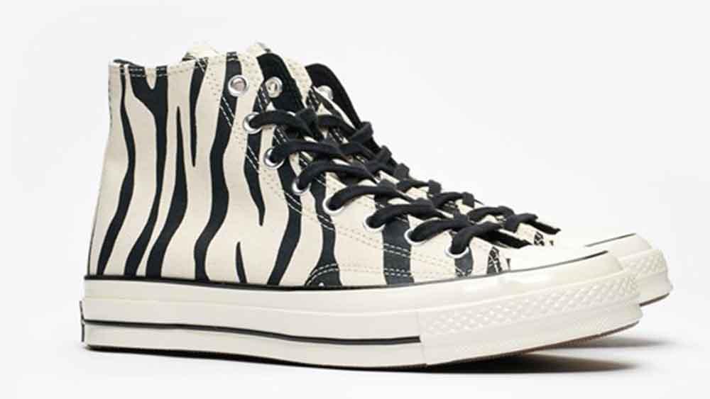 Converse Chuck 70 Hi Zebra | The Sole
