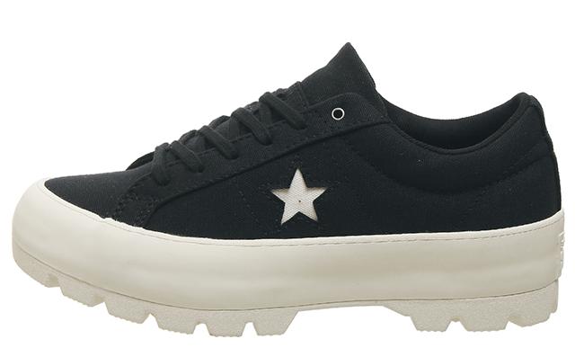 Converse One Star Lugged Ox Black White