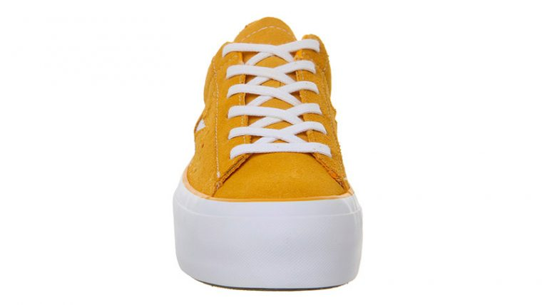 Converse One Star Platform Orange White 02