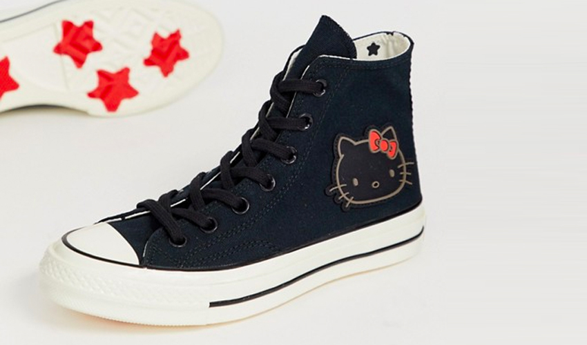Frase Comerciante Clan  Catch Converse x Hello Kitty Sneakers For Under £40 In ASOS' Sale | Style  Guides | The Sole Womens