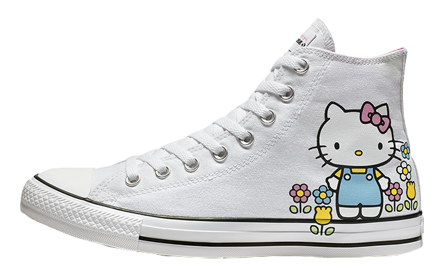 e65cb7e6583f Converse x Hello Kitty Chuck Taylor All Star Madison Low Top Black ...