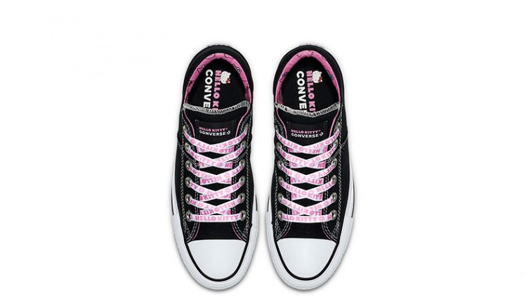 Converse x Hello Kitty Chuck Taylor All Star Madison Low Top Black Pink 02 295c23a1d