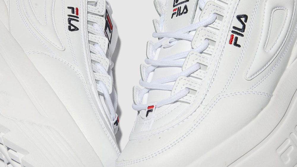 Fila's Disruptor II Get Even Chunkier With An Added Platform Midsole
