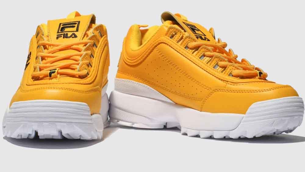 Fila Disruptor II Yellow