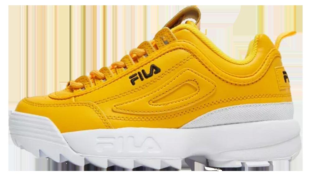 new style d511a 595e5 Fila Disruptor II Yellow