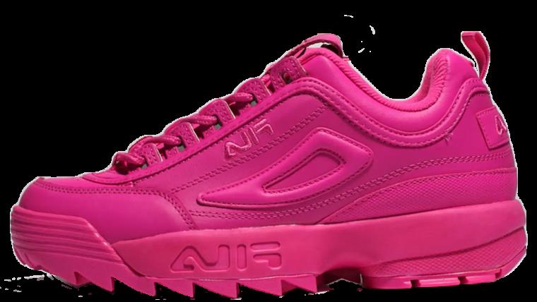 fila hot pink shoes