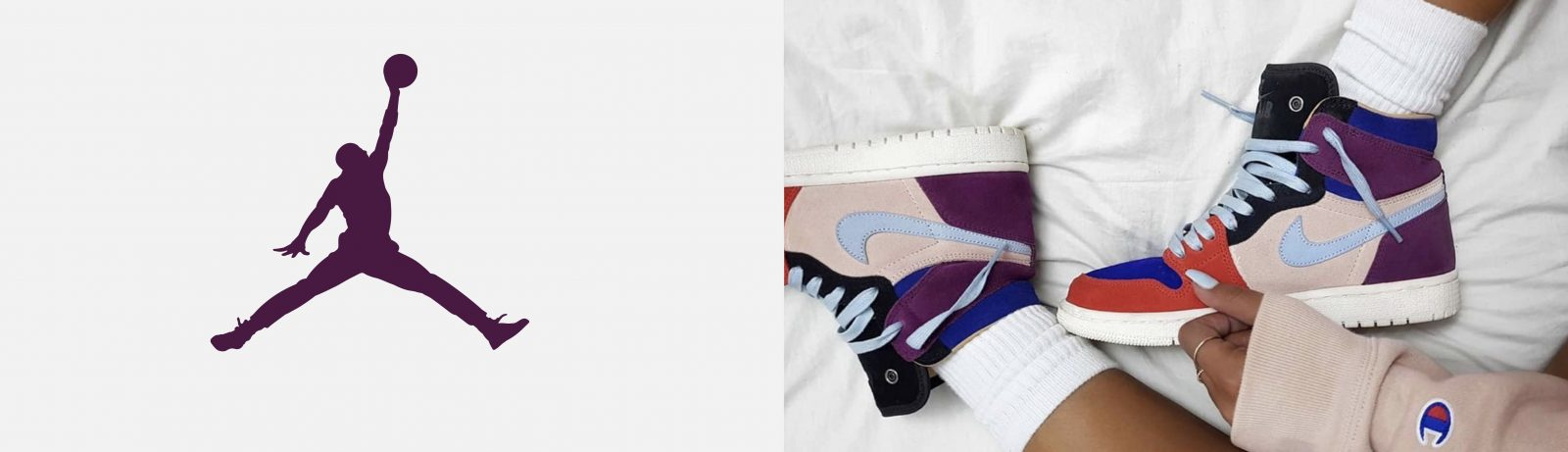 Women's Nike Air Jordan 1 Trainers