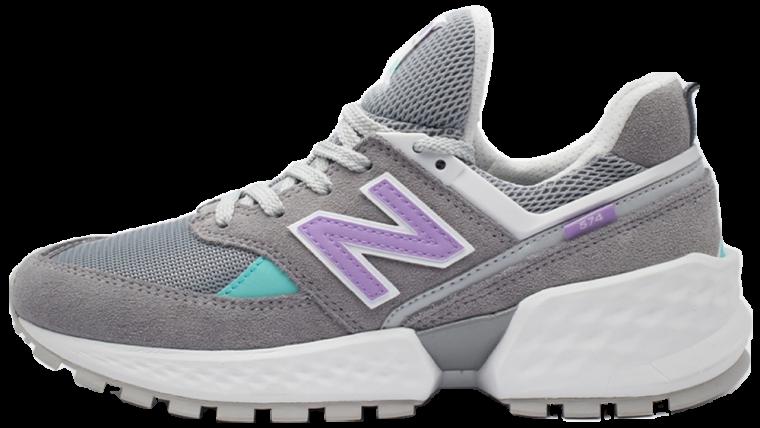 New Balance MS574GNB Grey Purple