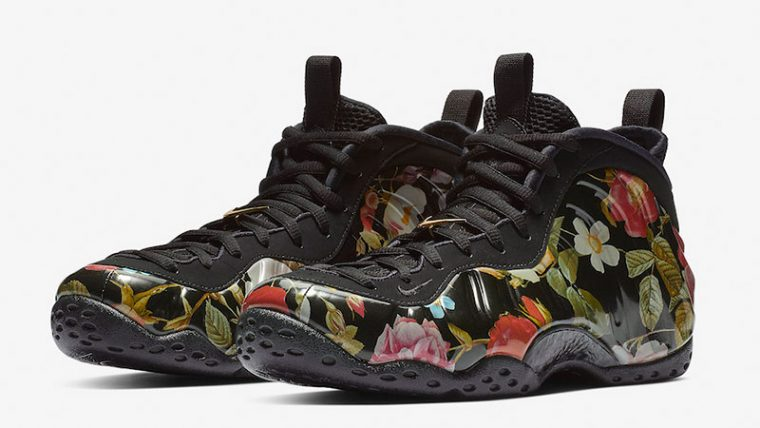 Nike Air Foamposite One Floral 314996-012 03 thumbnail image