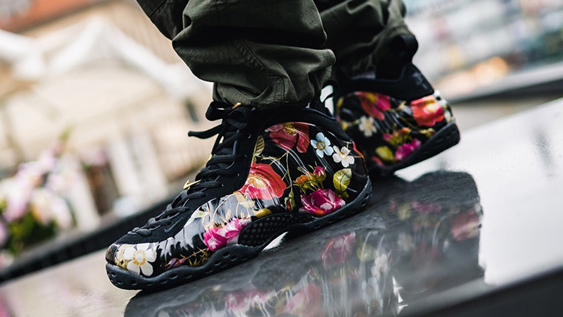Nike Air Foamposite One Floral 314996-012 04