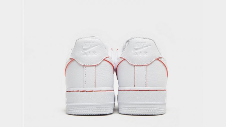 online store 6c0f1 2ce1a Nike Air Force 1 07 LV8 White Red Womens