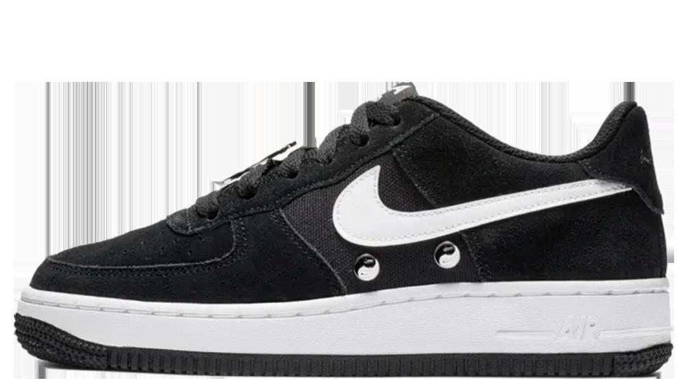 Verdulero suspensión Profeta  Nike Air Force 1 LV8 Have A Nike Day GS Black | Where To Buy | BQ8273-001 |  The Sole Womens