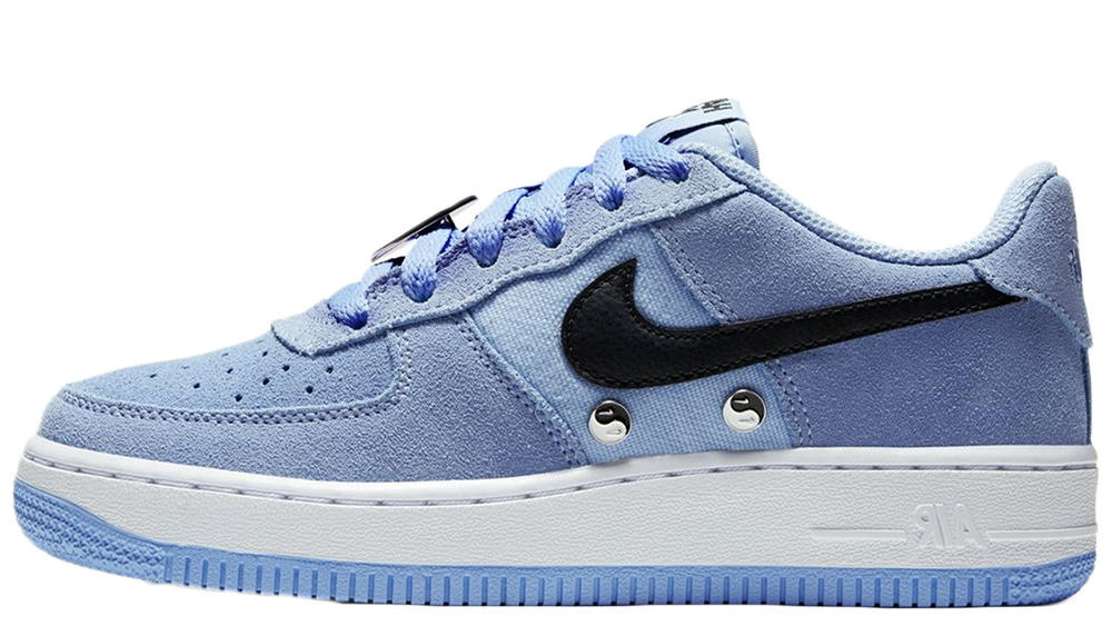 equipaje Revolucionario Morbosidad  Nike Air Force 1 LV8 Have a Nike Day GS Blue | Where To Buy | BQ8273-400 |  The Sole Womens