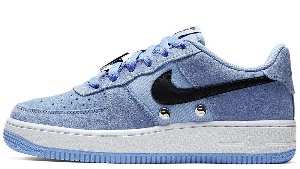 oszczędzać znana marka niska cena Nike Air Force 1 LV8 Have a Nike Day GS Blue   BQ8273-400