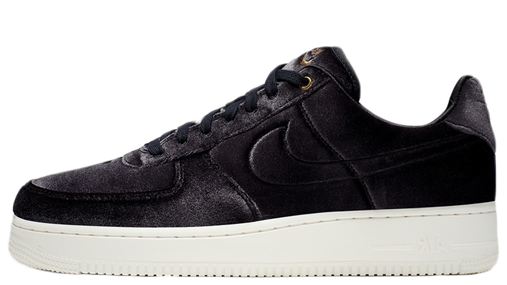 Nike Air Force 1 Low PRM 3 Black AT4144 001Eneste kvinder AT4144 001 The Sole Womens