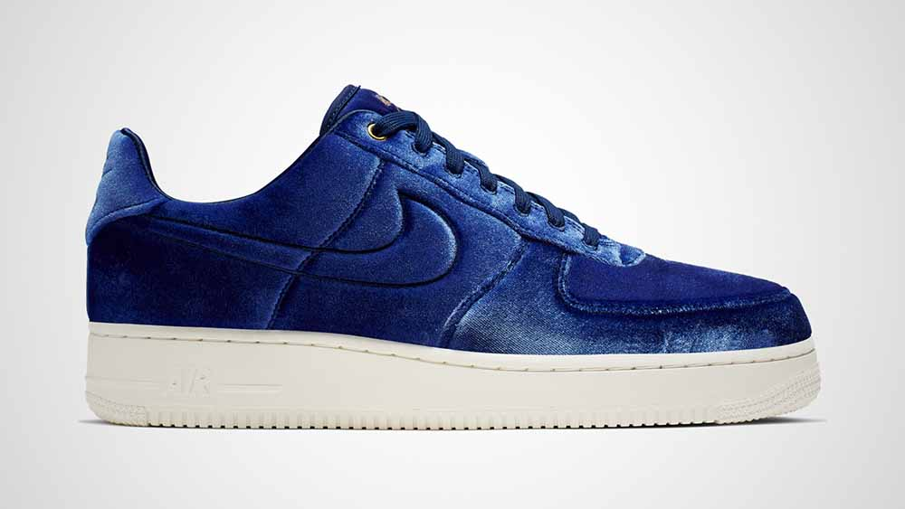 new product 7bb06 d7ced Nike Air Force 1 Low PRM 3 Navy  AT4144-400