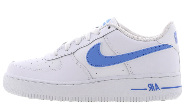 Nike Air Force 1 White Blue GS thumbnail image