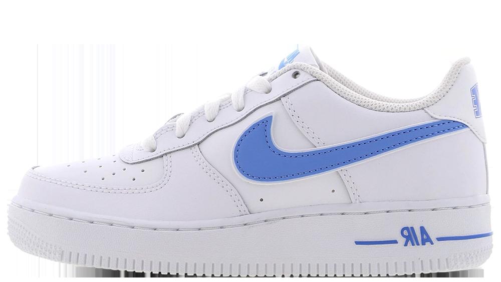 Nike Air Force 1 White Blue GS