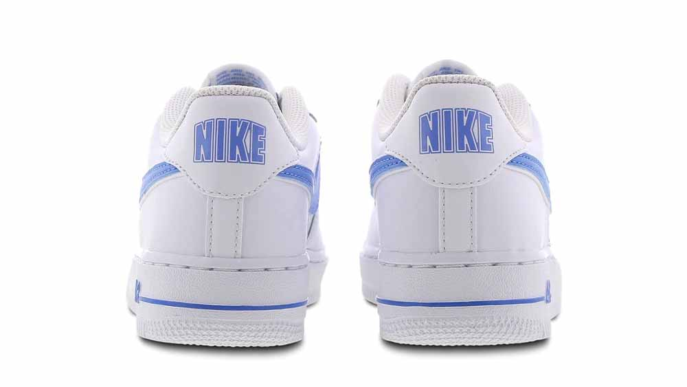 Nike Air Force 1 White Blue GS