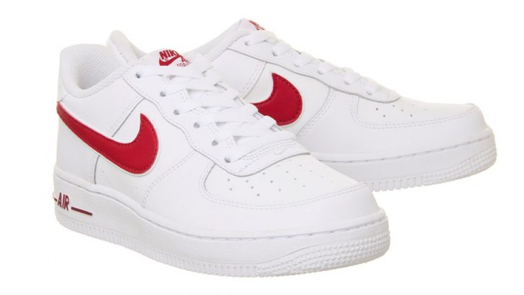 Nike Air Force 1 GS White Red