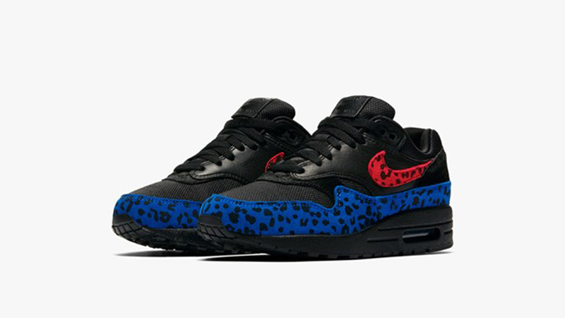 Nike Air Max 1 Black Leopard Womens BV1977-001 03