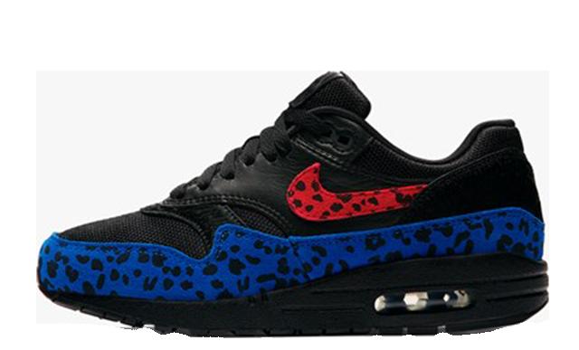 Nike Air Max 1 Black Leopard Womens BV1977-001