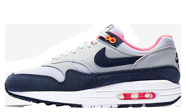 Nike Air Max 1 Grey Navy 319986-116