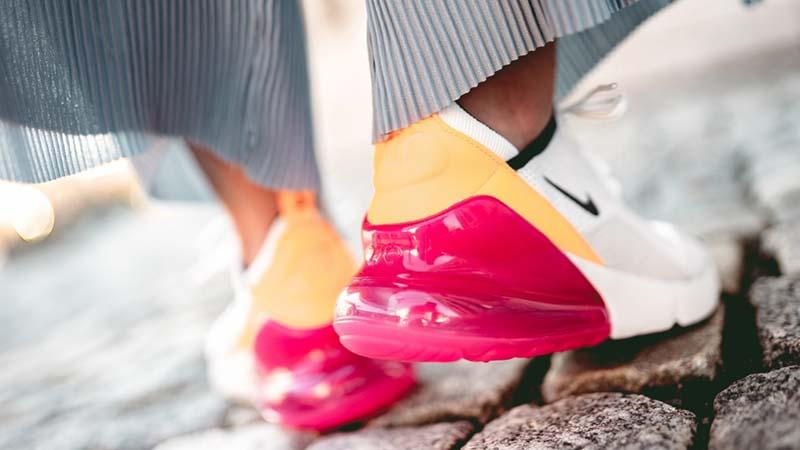 sale retailer 76b49 0a13d Nike Air Max 270 White Pink Women's | AH6789-106