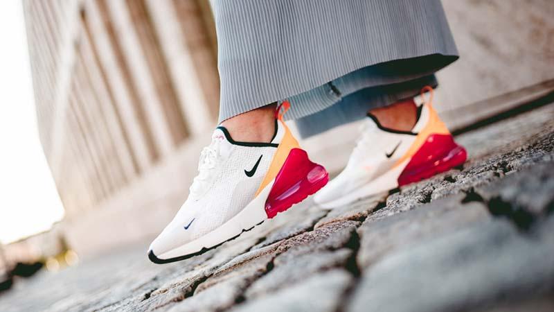 sale retailer 24b7c b7e8a Nike Air Max 270 White Pink Women's | AH6789-106