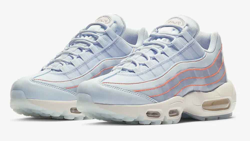finest selection fc49c 0280a Nike Air Max 95 SE Translucent Blue | 918413-400