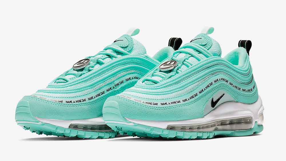 Nike Air Max 97 Have A Nike Day GS Green | 923288-300