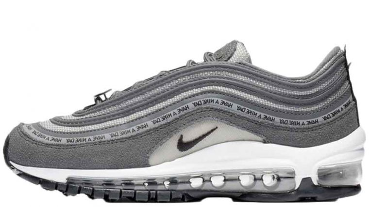 newest collection d1aa9 16c12 ... of the page to be notified of when the Nike Air Max 97 Have A Nike Day  GS in Grey is released on the 1st of March. UK true DD MM YYYY