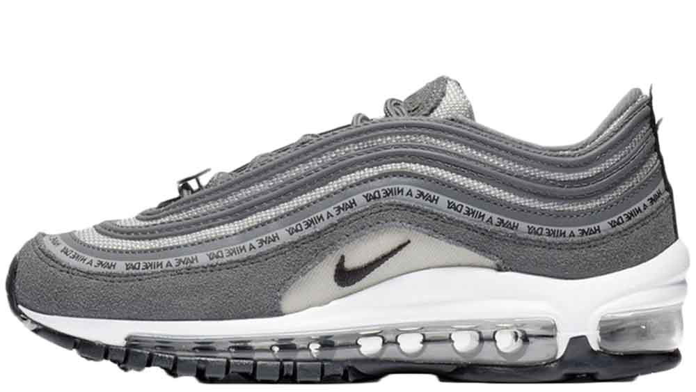 quality design 4985f d93ce Nike Air Max 97 Have A Nike Day GS Grey | 923288-001