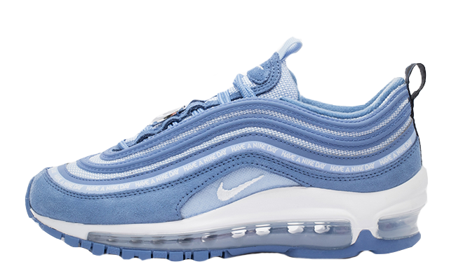 purchase cheap 2a85a 7a80e If the Nike Air Max 97 Have a Nike Day GS Blue is right up your street, you  can pick up a pair when they launch on February 22nd via the stockists  listed.
