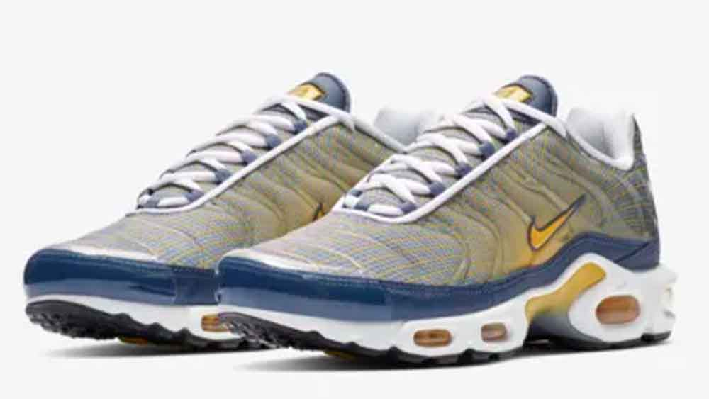 save off 6467d c7375 Nike Air Max Plus TN OG Yellow Blue | BV1983-500