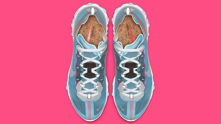 Nike React Element 87 Royal Tint AQ1090-400 02 thumbnail image