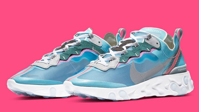 Nike React Element 87 Royal Tint AQ1090-400 03 thumbnail image