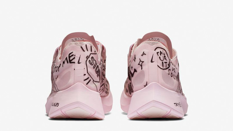 250c1e6d1 Nike Zoom Fly SP Fast Nathan Bell Pink | AT5242-100 | The Sole Womens