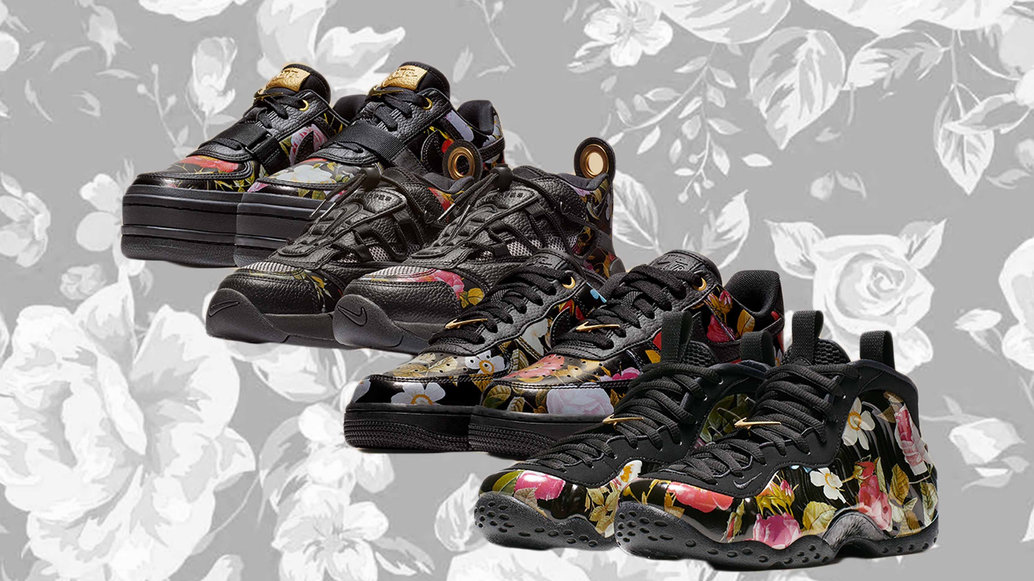 683dc9a9b4c34 Floral Tones Decorate Nike's Valentine's Day Pack | Upcoming Sneaker  Releases | The Sole Womens