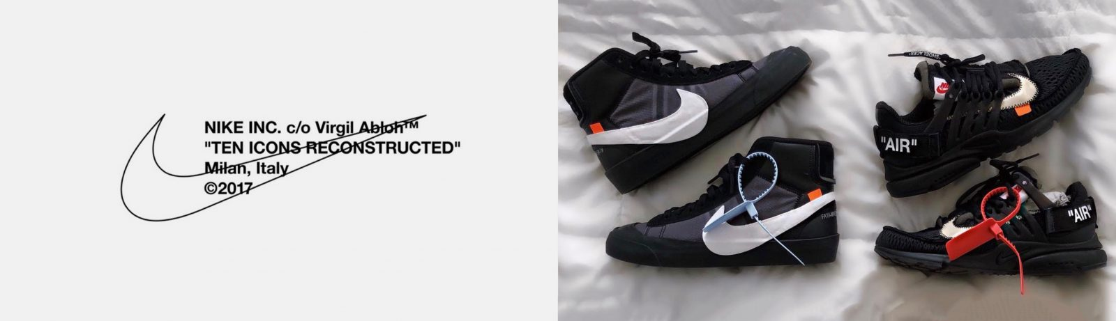 Women's Off-White Nike Trainers