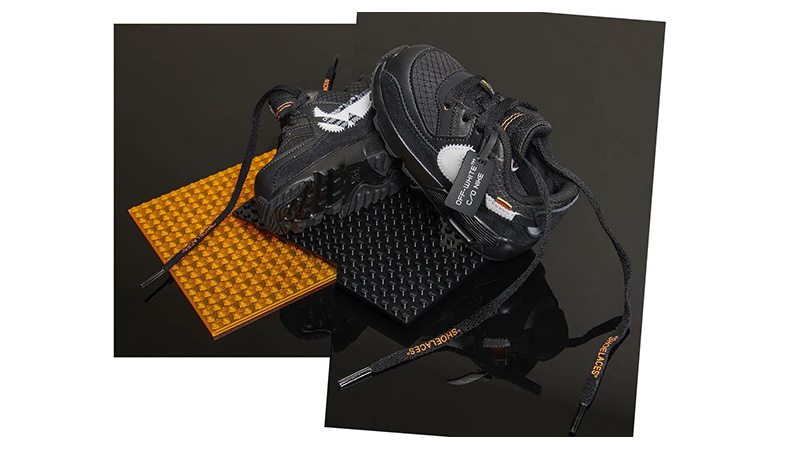 Off-White Nike Air Max 90 Black Toddler 03