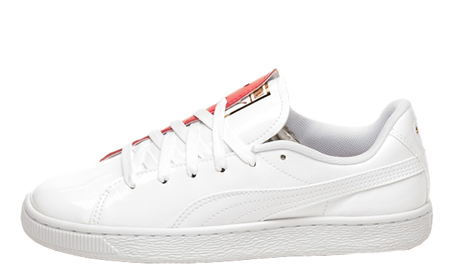 Check the stockists linked on this page to get you hands on a pair of the Puma  Basket Crush White Red. UK true DD MM YYYY a19caa0f0fb8
